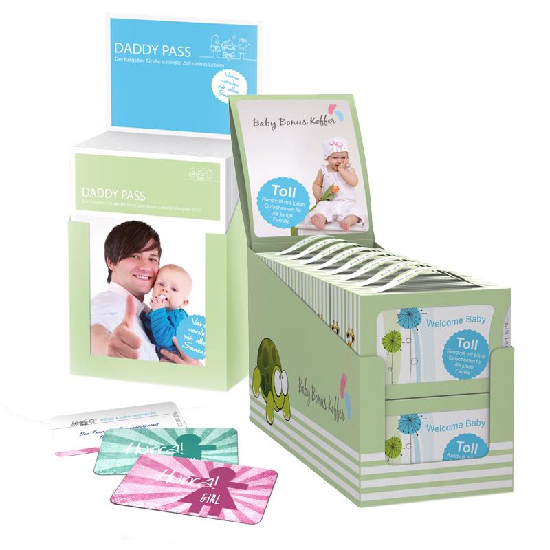 Werbeagentur JULO MEDIA Baby Bonus Koffer